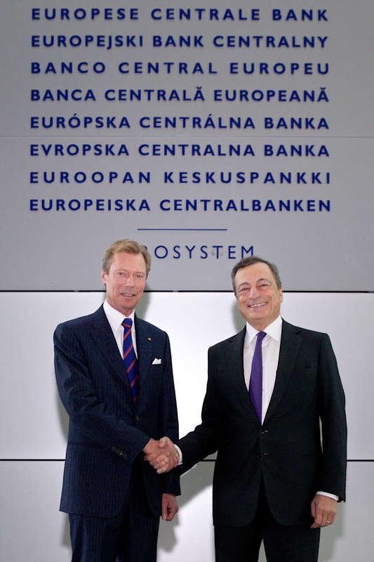 Visite de la Banque Centrale Européenne