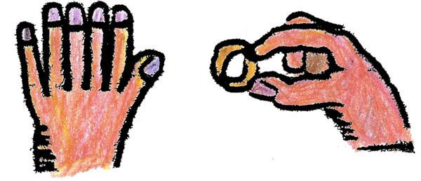 Bague au doigt