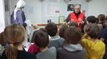 Visite de l'exposition de la Croix-Rouge