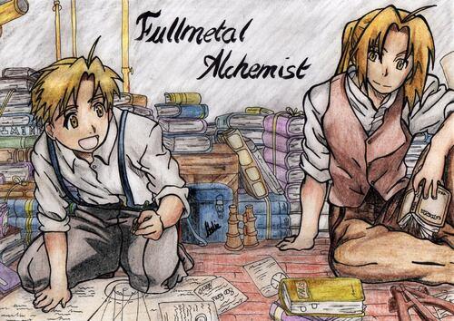 Fullmetal Alchemist ~ ¤ Elodie - Manga O Ekaki ¤