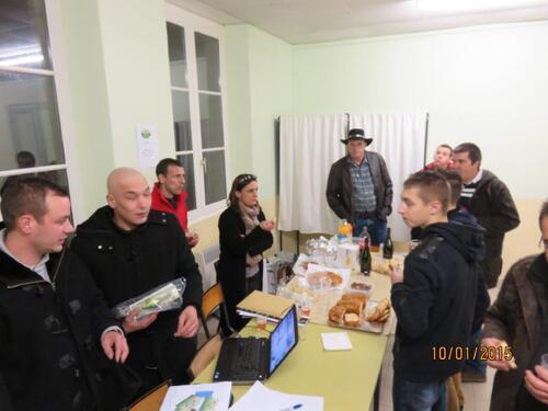 """Premiere assemblée générale du club de Peche Sportive """"Le Pecheur Morvandiau"""""""