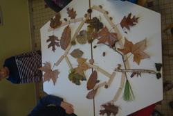 Maquette d'arbres d'automne