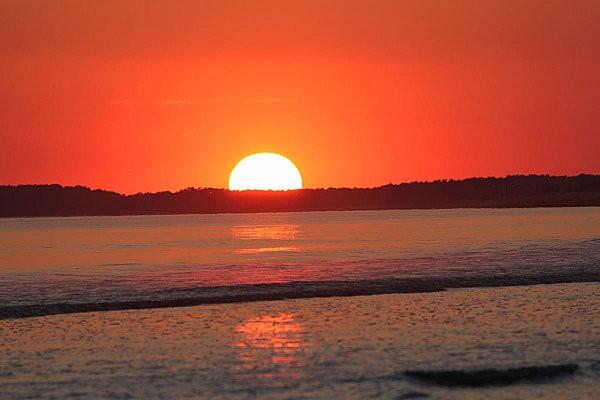 coucher de soleil sur Bonne Anse depuis la Grande Côte11