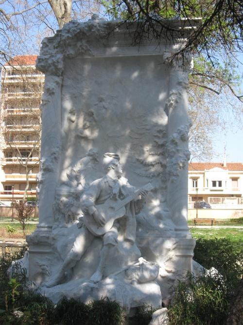 Perpignan, square Bir-hakeim