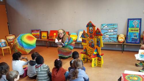 Dans une école maternelle