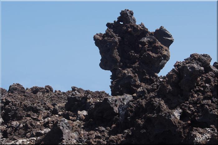 Lanzarote, île volcanique au large du Maroc