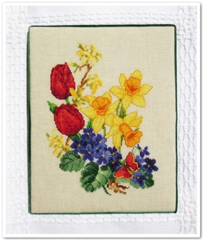 """""""Spring Flowers"""" fin"""