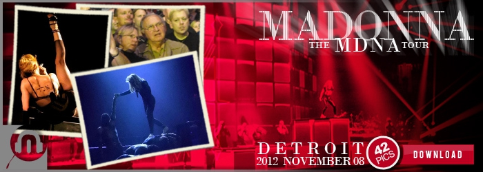 The MDNA Tour - Detroit - Pictures