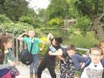 CM1L/CE1-CE2G : une journée à Lille (2ème partie : le zoo!)