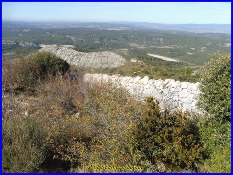 Massif de Ste Victoire, le gouffre de Garagaï