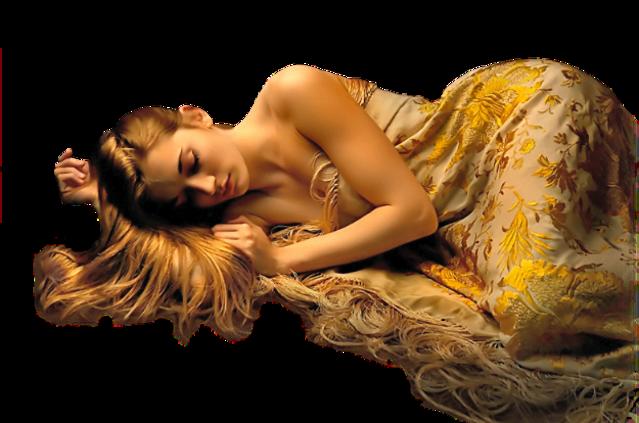 Tubes femmes en jaune et orange