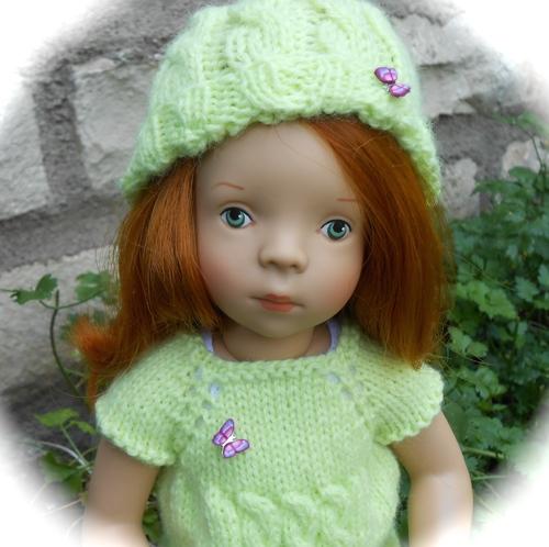 Petite robe torsadée pour Gaëlle