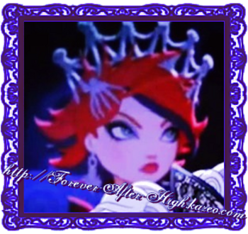 ever after high backgrounder (red hair girl)