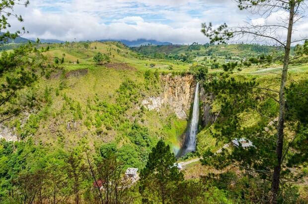 Lîle de Sumutra en Indonésie