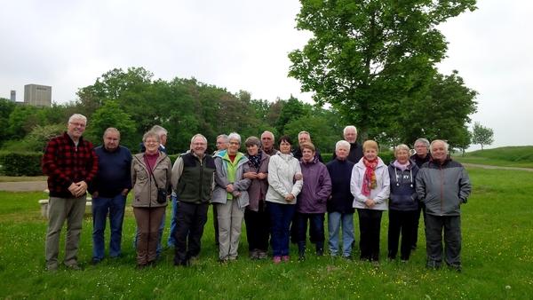 Les adhérents de la Société Mycologique  ont organisé une sortie botanique