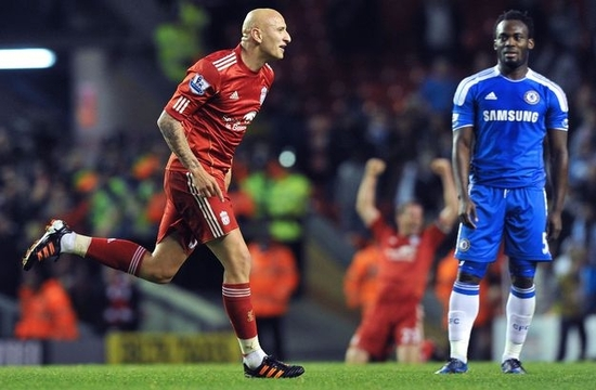 Liverpool-Chelsea 4-1