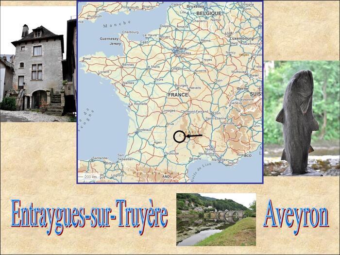 Entraygues-sur-Truyère (II/V) :