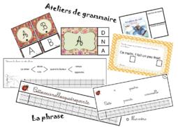 ateliers de grammaire : la phrase