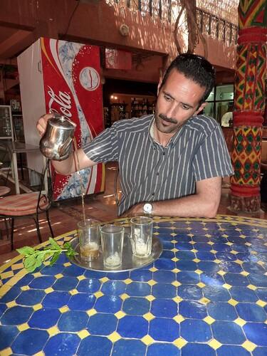 Agadir Hassan thé