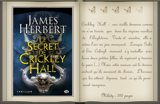« Le secret de Crickley Hall » de James Herbert