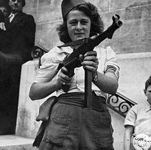 220px-'Nicole' a French Partisan Who Captured 25 Nazis in t