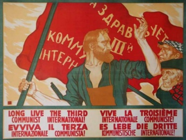 - 100e anniversaire de l'Internationale communiste  Déclaration du Comité central du KKE