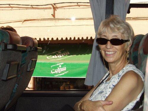 Jacqueline au Maroc