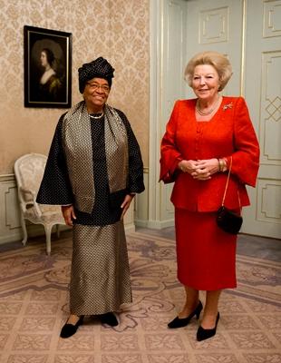 Beatrix et la présidente