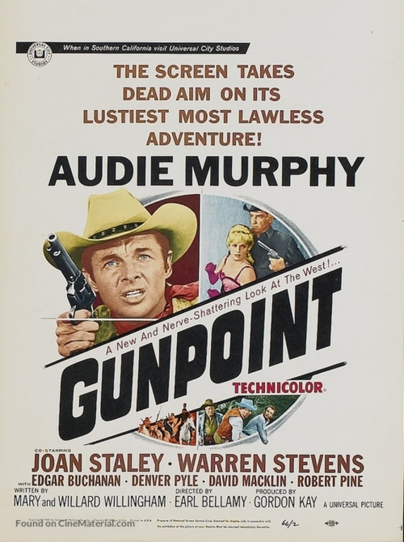 GUNPOINT BOX OFFICE USA 1966