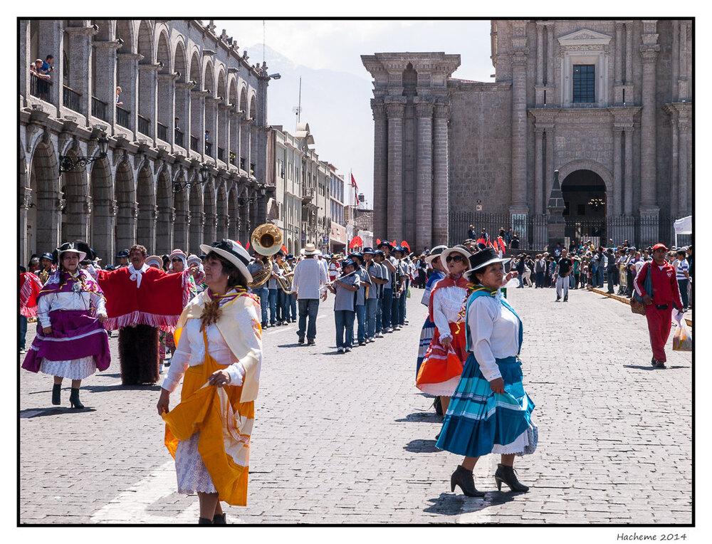 Procession, Place d'Armes