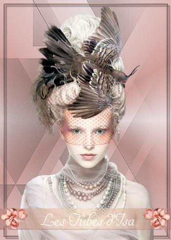 FAC0090 - Tube femme chapeau