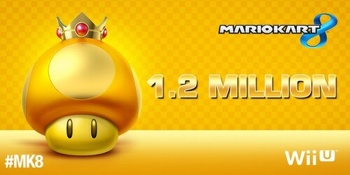 Mario kart 8 à dépassé le million !