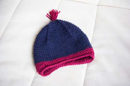 Mylène - Tricot : Bonnet Garter Ear Flap