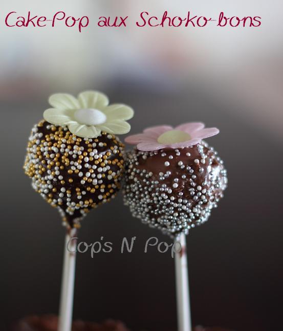 Cake pop au schoko-bon
