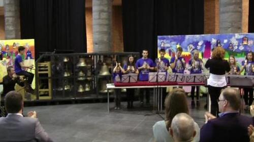 Le carillon mobile de l'Ecole Royale de Carillon Jef Denyn