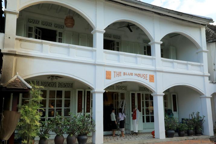The Blue House, Luang Prabang, Laos