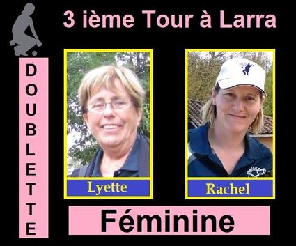 3 ième Tour du C.Z.C Féminines à Larra et Masculins à Cox.