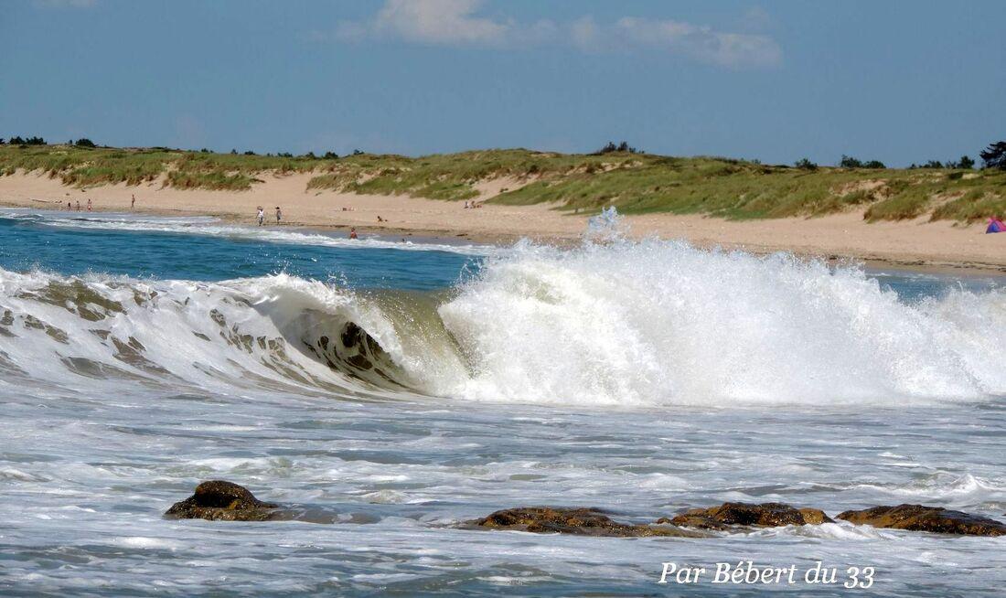 une vague à Oléron 17