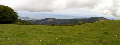 Panorama du pic des Quatre Termes