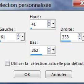 Selection perso cadre