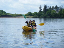 Rencontre avec le groupe kayak.