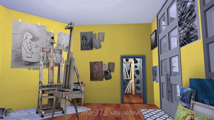 Les sims 4, Musée d'Art contemporain