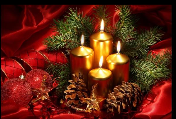 Tubes noel bougies chandeliers blog de l 39 ile de kahlan - Bougie de noel ...