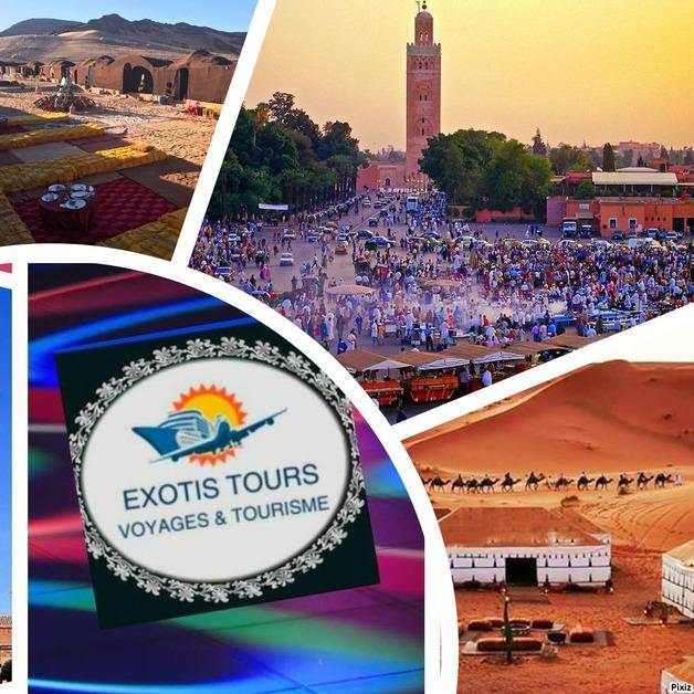 Le sud marocain , terre de contrastes ...