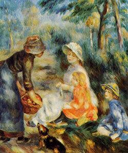 Auguste Renoir : La marchande de pommes