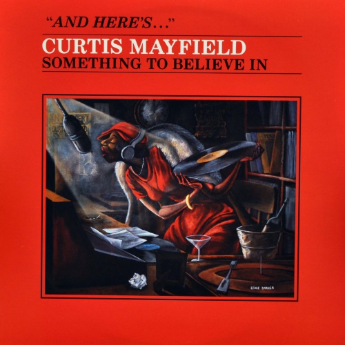 "1980 : Album "" Something To Believe In "" Curtom / RSO Records RS-1-3077 [ US ]"