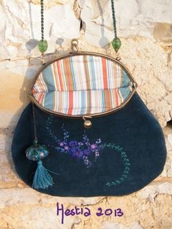 le sac et son porte monnaie assorti; des prototypes