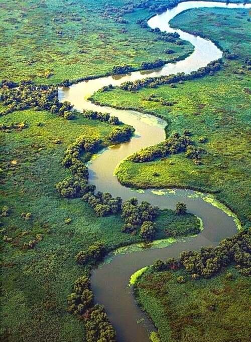 Patrimoine mondial de l'Unesco : Le delta du Danube - Roumanie -