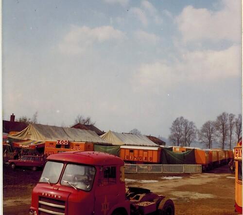 le cirque Pinder Jean Richard en 1972