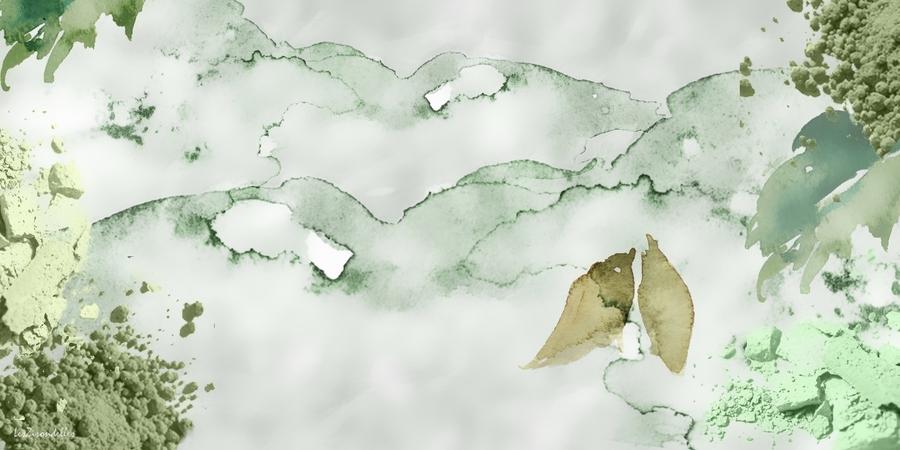 Fonds hiver ABSTRAIT